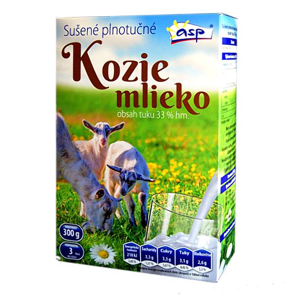 ASP s.r.o, Sušené kozí mléko - plnotučné 300g